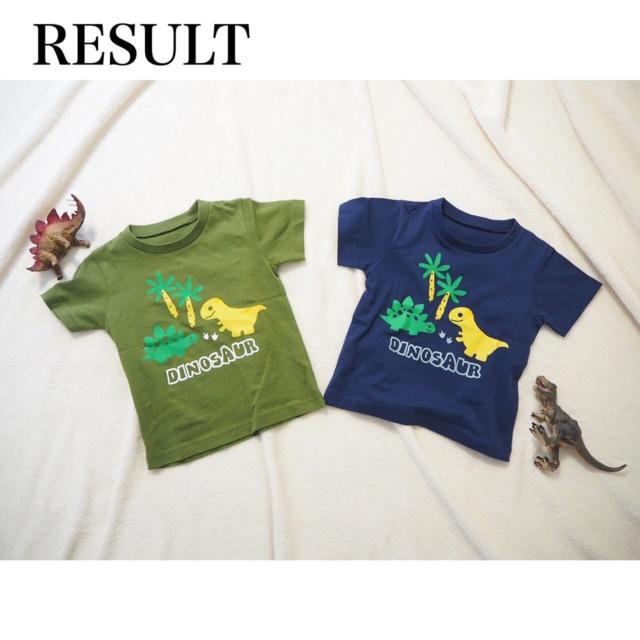 . 21年夏物新作商品ご紹介😎⛱ 男の子ブランドRESULTの ベビーTシャツをご紹介☀️.° . 恐竜が可愛い〜😆❤️❤️ 絵のタッチも可愛らしくて 男の子の心をくすぐります😍✨ プチプラで可愛いTシャツが いっぱい欲しい〜の声に応えた 商品です😆❤️ . 販売店舗はHPより↓↓↓ https://dollyribbon.jp (プロフィールから飛べます✈💭) . 品番:512513 恐竜プリントTシャツ 色展開:ネイビー/カーキ サイズ展開:80cm~95cm (モデル着用サイズ:90cm) . ご協力いただいたモニターモデル様💓 @riochan0330 様 モデル身長:75cm . お問い合わせ→公式LINE【@654rzlhd】 . Dolly Ribbon株式会社 〒541-0052 大阪市中央区安土町1-7-20 新トヤマビル3F TEL06-6262-2388 担当:奥村 早貴 . #恐竜 #きょうりゅう #tシャツ #tシャツコーデ #夏服コーデ #夏服 #ベビー服 #こどもふく #子ども服 #プチプラこども服 #キッズコーデ  #プチプラコーデ #むすめふく #女の子コーデ #男の子コーデ #こどものいる暮らし #ファッション通販 #ドーリーリボン  #むすめふく  #むすこーで  #プチプラコーデ  #プチプラ #dorryribbon #こども服  #きゅんです#kidsfashion#boysstyle#girlsstyle#kidsstyles#RESULT